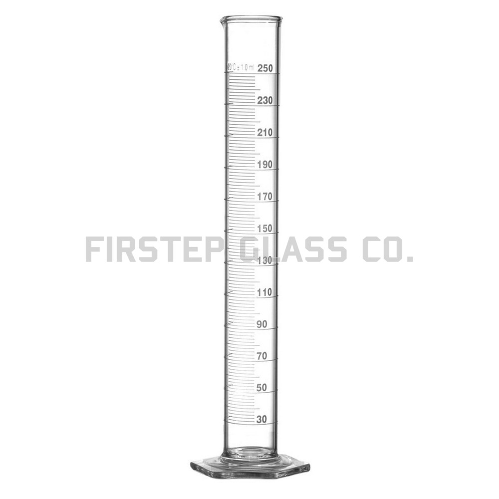 how to draw a measuring cylinder